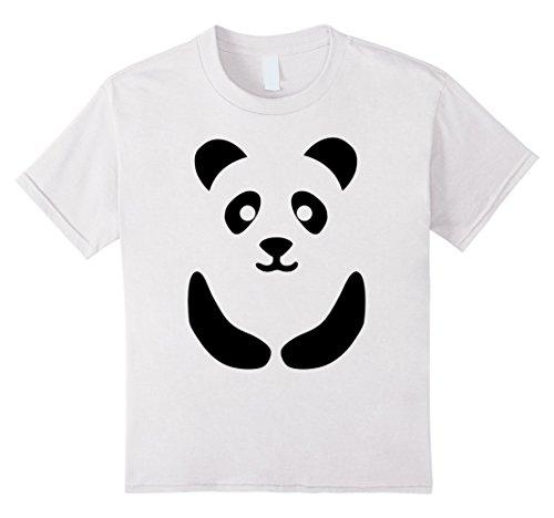 White Cute Costume Lady (Kids Funny Panda Halloween Costume Shirt Cute for Women Men Kids 8)