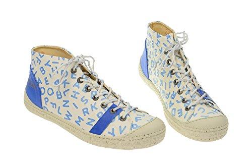 Weiß Zapatos Mujer Azul 002 Con Eject16225 Blau Cordones 6qTxfPcEw