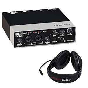 Steinberg UR22mkII USB 2.0 Audio Interface wi...