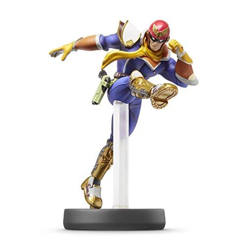 Captain Falcon amiibo Super Smash Bros