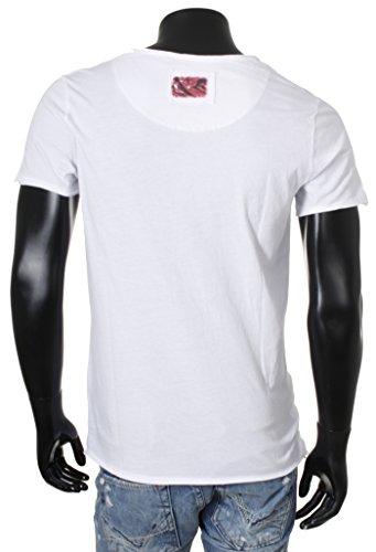Key Largo Herren T-Shirt EM TURKEY TEAM Kurzarm Rundhals Vintage destroyed-used