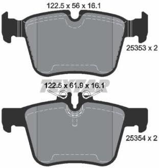 Textar 2148602 Bremsbelagsatz Scheibenbremse