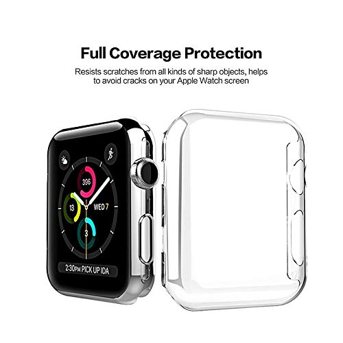 BATOP Apple Watch Screen Protector || fistar 38 42mm Watch case for Apple Watch Series