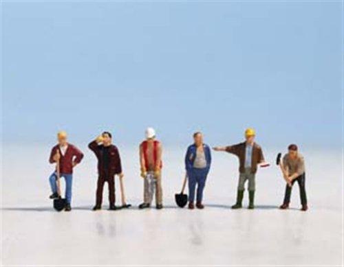 Importado de Alemania Figuras de Trabajadores de la construcci/ón NOCH