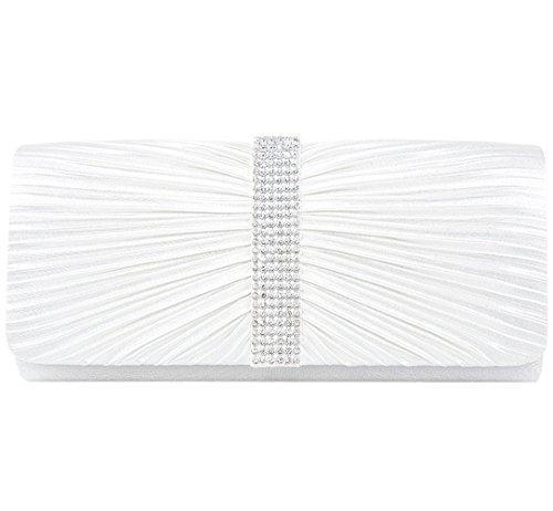 White Satin Purse - 9