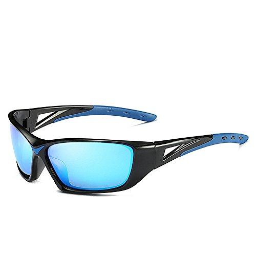 Sol Gafas para Hombre Deporte Gafas de De Sol Color Gafas Sol Azul LBY De Gray Polarizadas Sol De Gafas ZxgwPqPO6