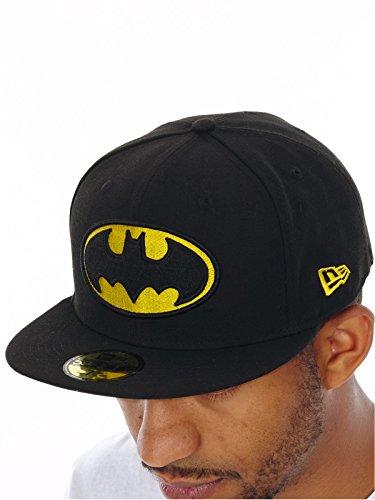 New Era Cap Marvel Batman Basic Logo Fitted 6 7/8-8(7 1/8) (Basic Logo Fitted Hat)