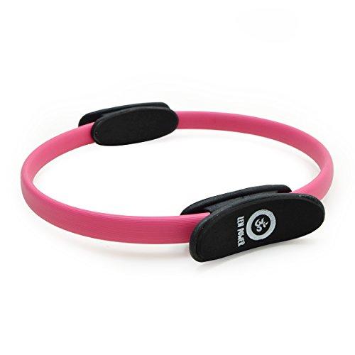 Zen Power Pilates Ring/Yoga Ring - Trainingsgerät für effektives Kraft- und Widerstandstraining, Circle mit 38cm Durchmesser