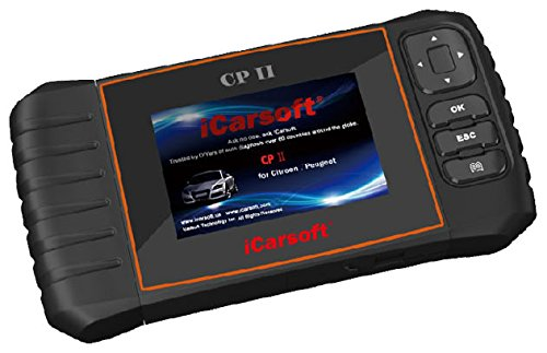 iCarsoft CP II for Peugeot / Citroen NEW VERSION professional diagnostic tool scanner - PLUS FREE ANTI-SLIP PAD ($10 Value) by iCarsoft (Image #6)