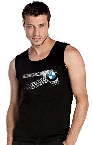 BMW - Auto Logo car schwarz-Rot Top Tank T-Shirt -2602