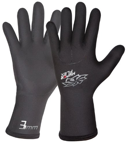 Hyperflex Wetsuits Men's 3mm Mesh Skin Glove, Black, XX-Large - Surfing, Windsurfing & Wakeboarding