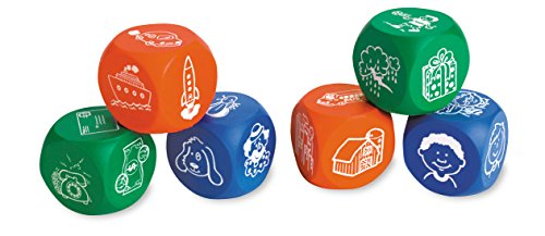Learning Resources Foam Story Starter Picture Cubes