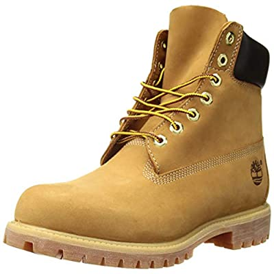 Timberland Mens 6 Inch Prem Wheat Boot 9.5 Tan | Oxford & Derby