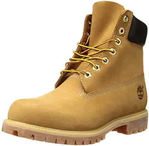 Timberland Men's Icon 6 Premium Boot 9.5 Wheat