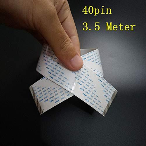 Printer Parts 4piece/lot Genuine Yoton 1638 Printer 40pin 3.5Meter Yoton Cable 40p 3.5m Print Head Cable ()