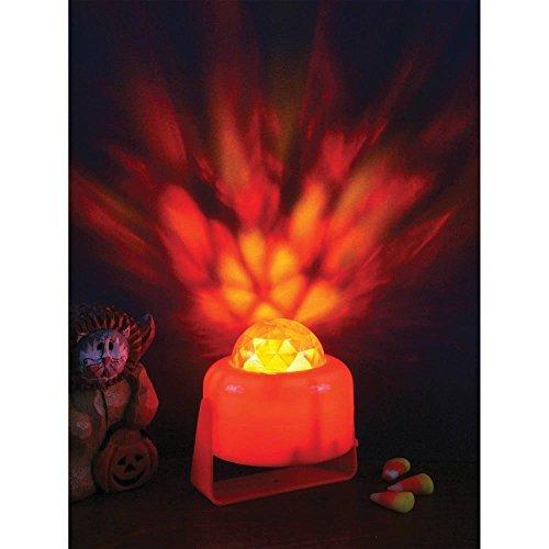 Flaming Pumpkin Lite Halloween Decoration