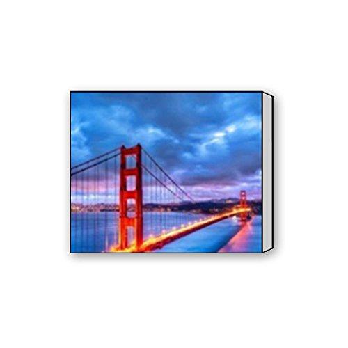 Bernie Gresham San Francisco Golden Gate Bridge custom Canvas Print 20