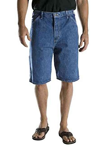 "Nice Dickies Men's Cell Phone Extra Pocket Relaxed Loose 13"" Denim Jean Shorts for sale"