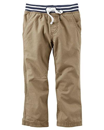 Carter's Baby Boy's Khaki Canvas Utility Pants 6 Months