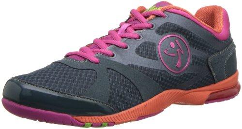 Zumba Footwear Zumba Impact MAX, Zapatillas para Mujer, Gris (Mehrfarbig (Dark Slate), 42 EU: Amazon.es: Zapatos y complementos