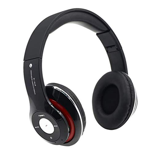 Sonmer STN-16 Wireless Bluetooth 4.1 Noise Cancelling Stereo Foldable Over Ear Headphone,for Iphone Android Smartphone Tablet PC,With Microphone MP3 FM Function ()