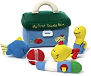 GUND Baby My First Tackle Box Stuffed Plush Playset, 5 Pieces Collection