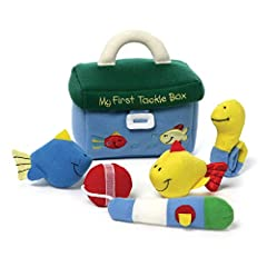 GUND wants to make playtime a more huggable experience — the My First Tackle Box Playset is full of cute activity toys that are sure to please young anglers. Each five-piece playset includes a colorful, embroidered tackle box complete with to...