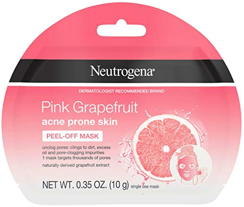 Neutrogena Pink Grapefruit Activated Cream-to-Foam Facial Cleanser with Naturally Derived Grapefruit Extract for Acne-Prone Skin, Oil-Free and Non-Comedogenic Daily Acne Face Wash, 3.5 oz
