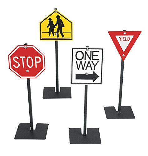 Angeles Traffic Sign Set 1 (Signs Plastic Traffic)