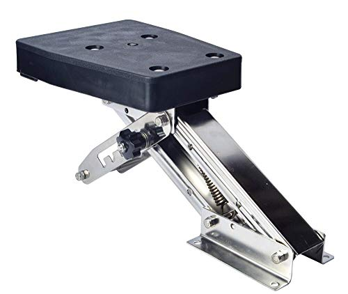 Workshop Equipment Outboard Motor Bracket Kicker for Boat Marine Up to 25HP Auxilary Trolling Mount