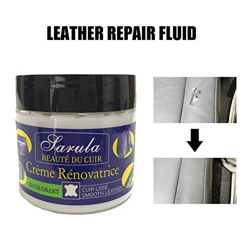 Wetour Leather Cleaner Couch Leather Vinyl Repair Kit - Repair Holes Scratches Cracks Rips Liquid Leather Repair Tool for Leather Car Seats, Leather Sofas, Leather Shoes: