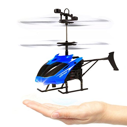 Coohole Flying Mini RC Infraed Induction Helicopter Aircraft