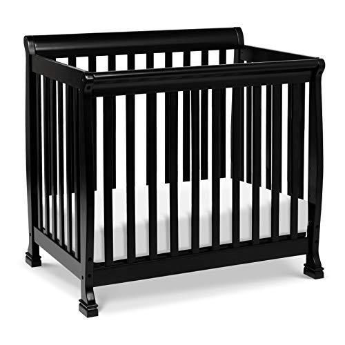 - Davinci Kalani 4 in 1 Convertible Mini Crib and Twin Bed, Ebony