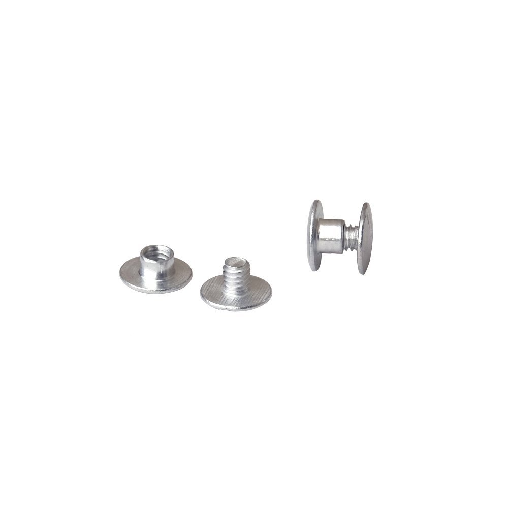 3/16 in. Aluminum Chicago Screws/Screw Posts (Qty 100 sets)
