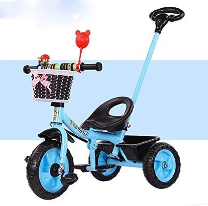 HJFGIRL Triciclos Bebes 1 Año Bici 3 en 1 Plegable Bicicletas ...