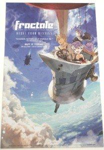 NEW Anime Expo 2012 Yutaka Yamamoto FRACTALE Dual Promotional Poster 17