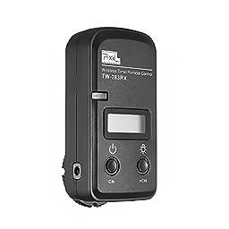 pangshi LCD Wireless Shutter Release Timer Remote Control for Nikon D90 D600 D610 D3100 D3200 D3300 D5000 D5100 D5200 D5300 D7000 Digital SLR Cameras