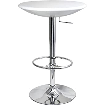 Podium Table   White   Bar Table, Kitchen Table, Diner Table, Pedestal Table