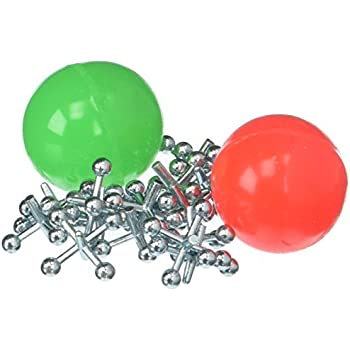 Birthday Party Give-A-Way Kid Classic Game 200 Sets of Metal Jacks and Ball