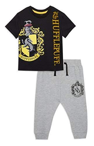 Bebé Harry Potter Camiseta y Basculador Set - Amarillo - Hufflepuff, 6-9 Meses