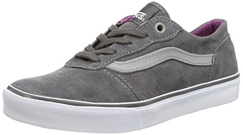 Vans Milton, Women's Low-Top Trainers Grey (Mte - Pewter/Deep Orchid)
