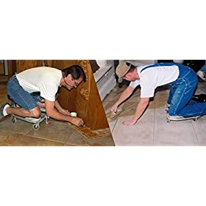 """RACATAC Kneeling Sitting Creeper 3"""" Casters with Chest Support 01RAC3CS"""