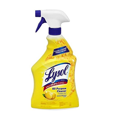 Lysol All-purpose Cleaner Trigger, Lemon Breeze Scent, 32 Fl. Oz (Pack of (Lysol All Purpose Cleaner)