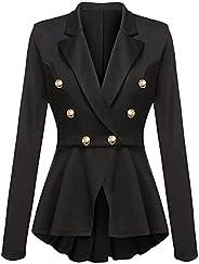 NAWONGSKY Women's Casual Blazer Jacket