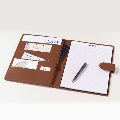 Soft-Sided Padfolio in Black Customize: Yes