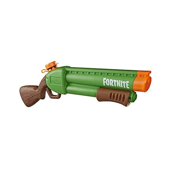 Nerf Supersoaker - Fortnite Pump-SG, Blaster ad Acqua con Getto Azionato a Pompa, E7647 1 spesavip