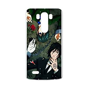 The Black Butler Anime Personalized Custom Case For LG G3 wangjiang maoyi by lolosakes