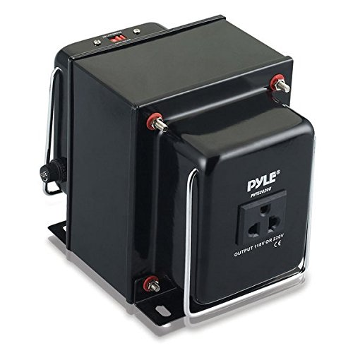 Pyle voltage converter Step Up and Down AC 110/220 Volts Transformer, 2000 Watt by Pyle (Image #3)