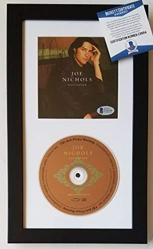Joe Nichols Autographed Signed Memorabilia Cd Display Beckett Beckett Authentic Album Country Music Autographed Signed