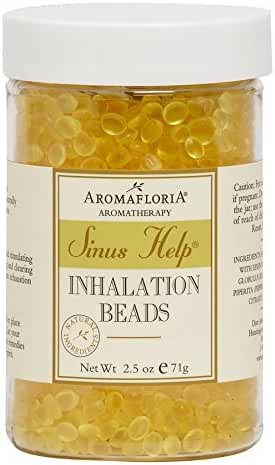 Aromafloria Sinus Help Inhalation Beads, Eucalyptus, 2.5 oz